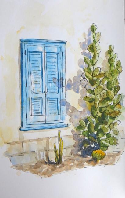 Tucson Blue Window