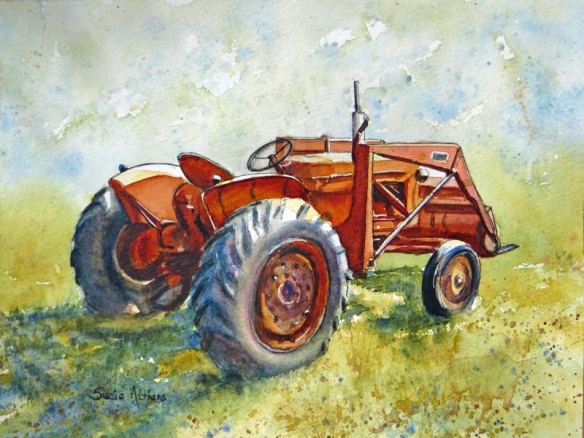 A loved tractor